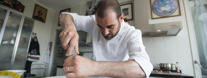 Chef Robledo's class